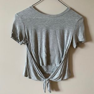 Wilfred Tie-Front Tee